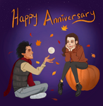 Autumn Couple Commission