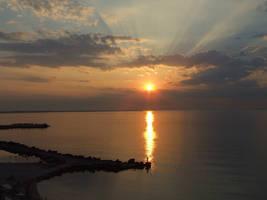 sunrise by iulikamd