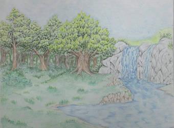 Landscape by DR3WZILLA