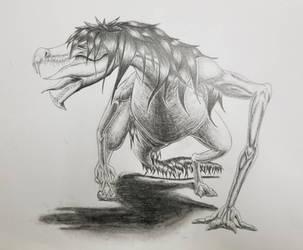 original creature by DR3WZILLA