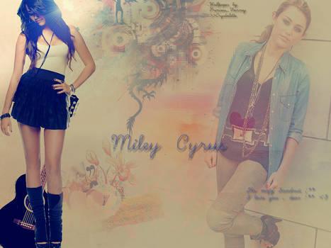 Miley's Wallpaper for Sandra.