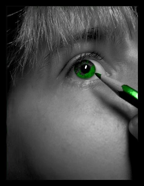 How I got my green eyes