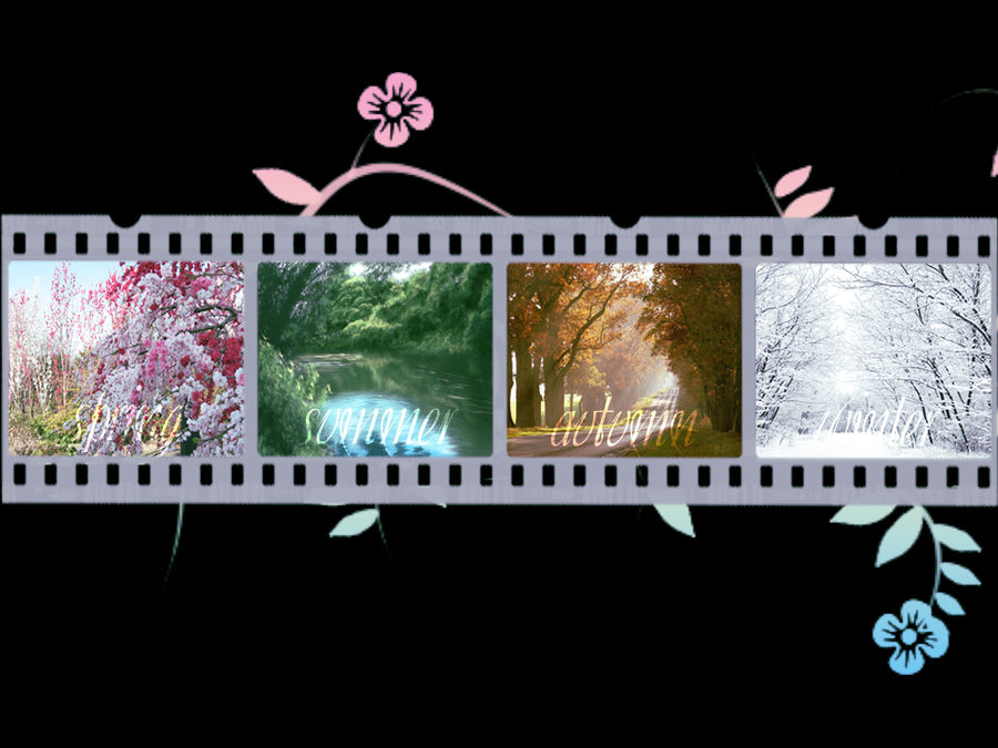 Four Seasons Wallpaper By Alexya16 On Deviantart