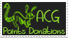 ACG Points Donations Sketch Stamp by missimoinsane