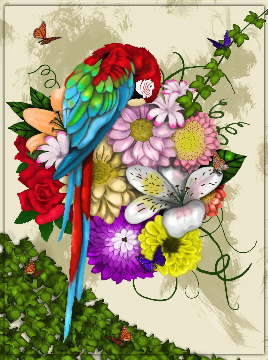 Pretty Boy Flowers by missimoinsane