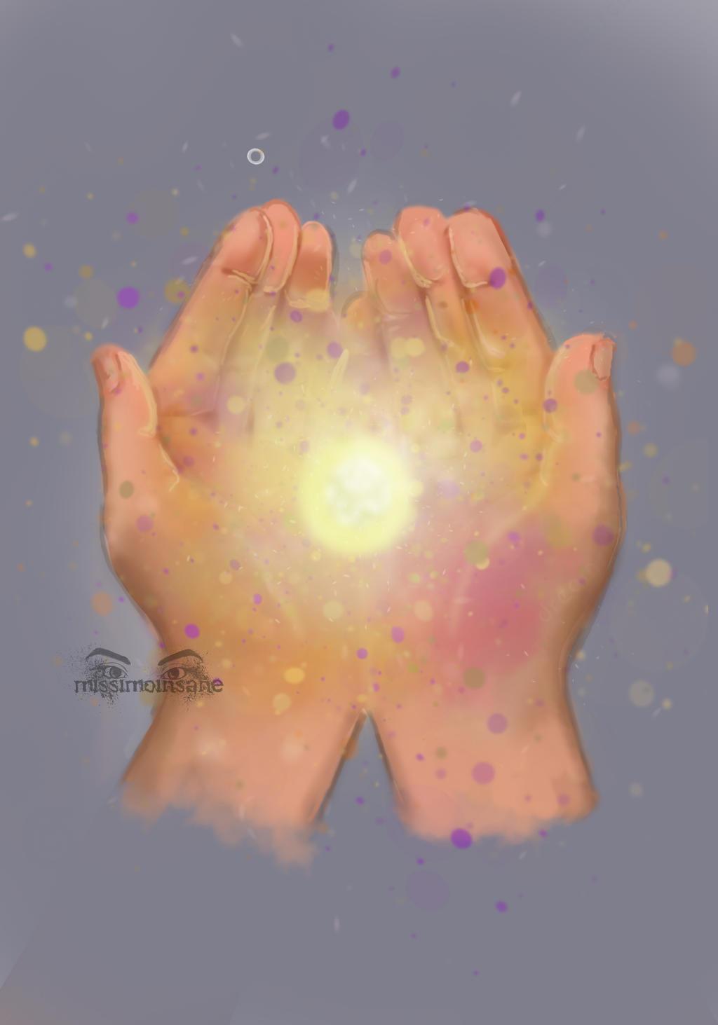 DAILY SPITPAINT No.2 - Stardust