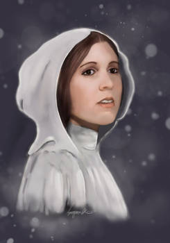 May The Force Be With You Leia
