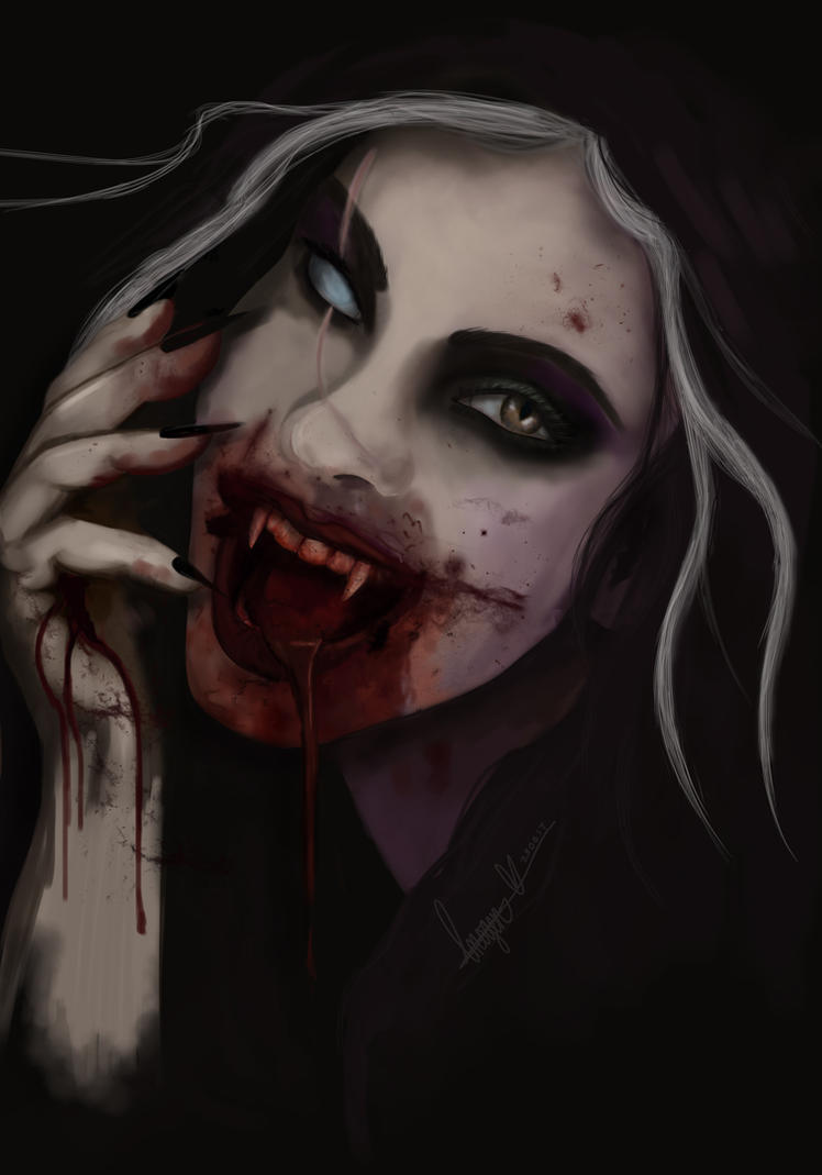She's A Vamp by missimoinsane