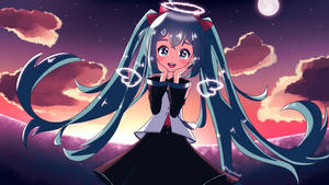 I'll Be Your Star Cover Art ft. Hatsune Miku