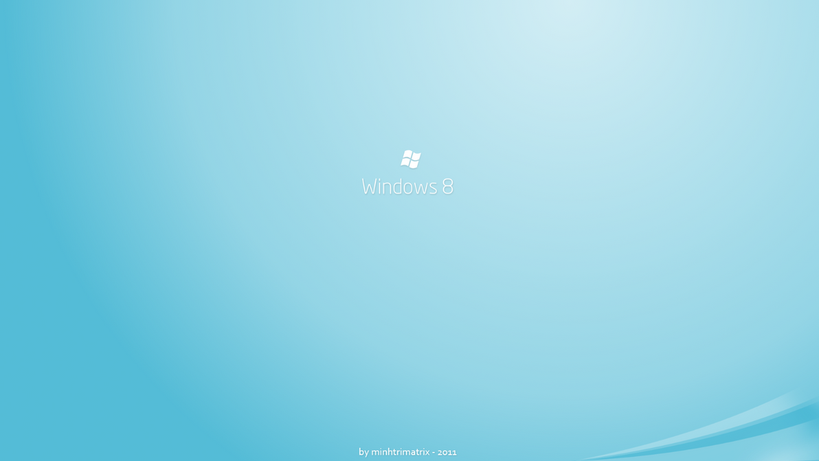 Windows 8 Logon Screen by minhtrimatrix