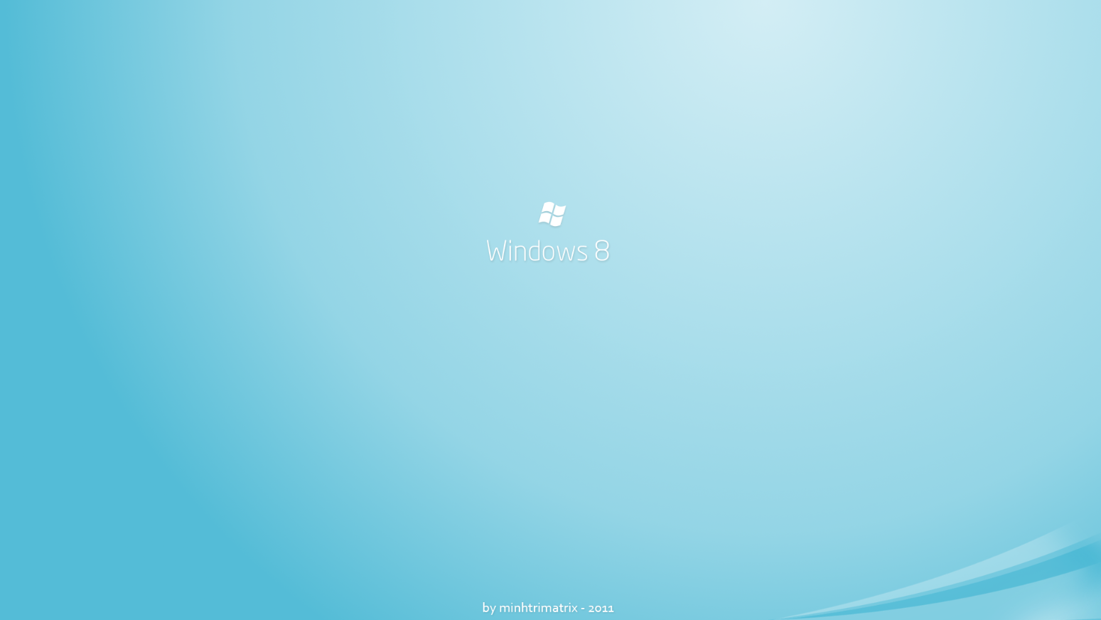 Windows 8 Logon Screen