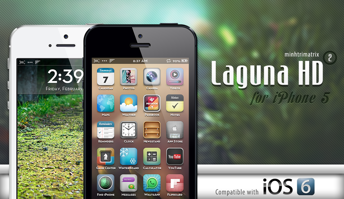 Laguna HD 2 for iPhone 5 by minhtrimatrix