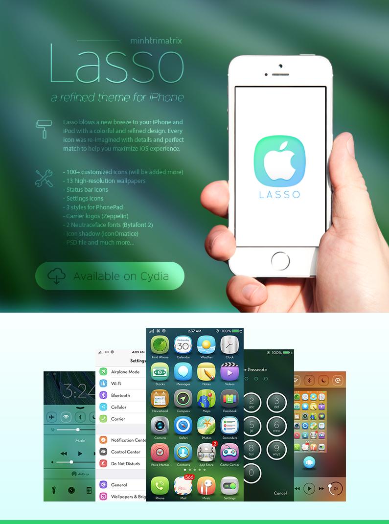 Lasso for iOS 7 by minhtrimatrix