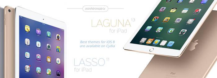 Lasso and Laguna for iPad on iOS 8