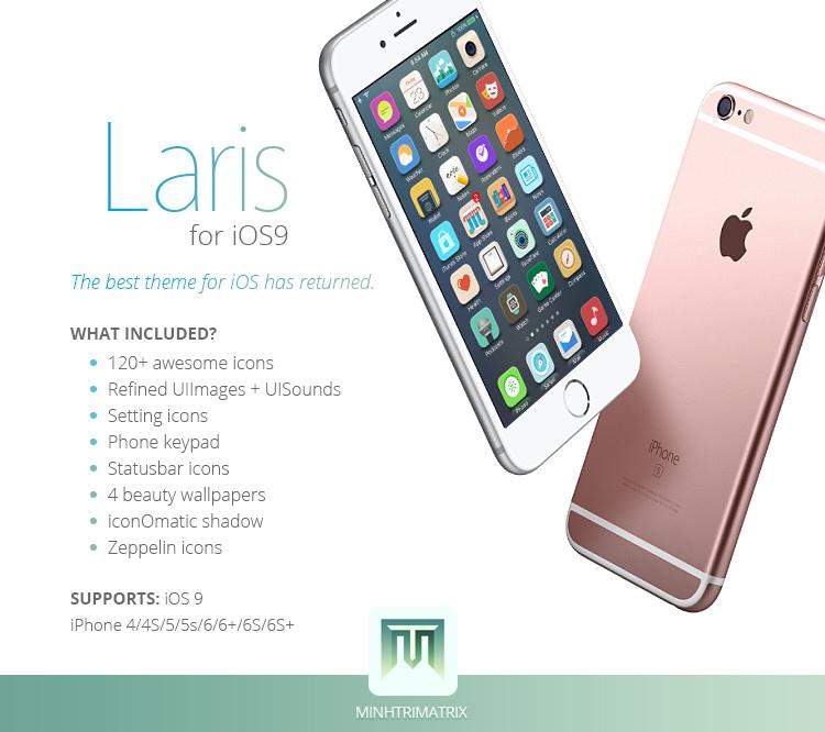 Laris for iOS 9 by minhtrimatrix