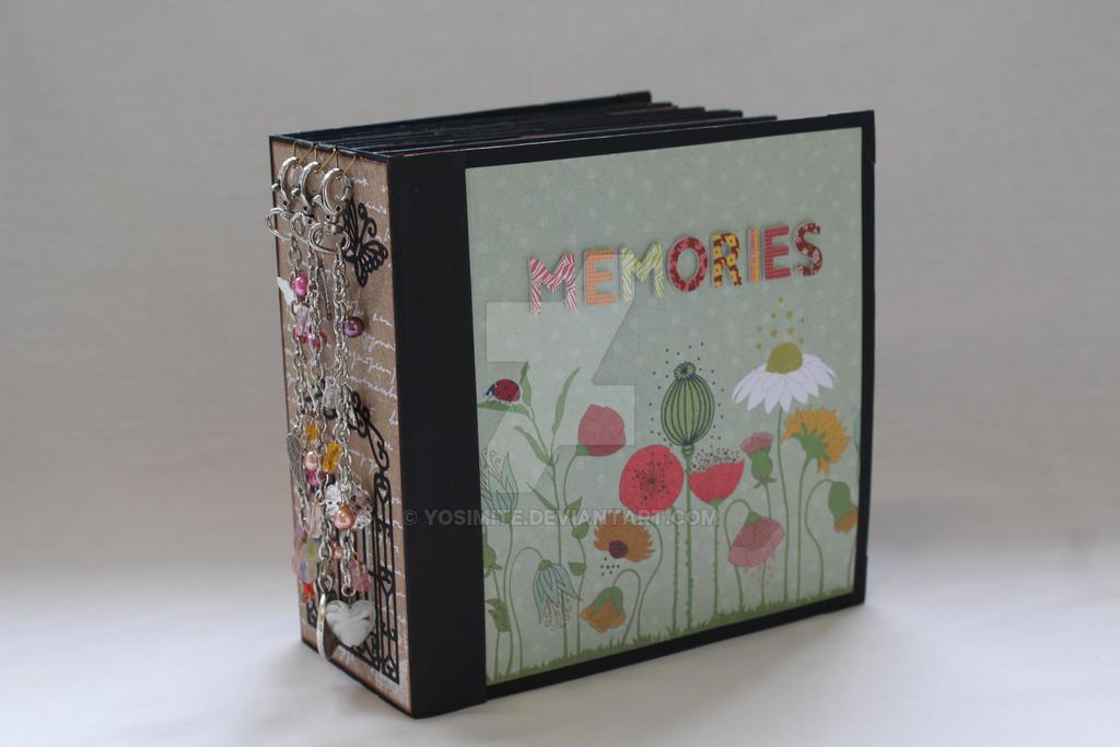 Memories, Handmade Papercraft Album by yosimite