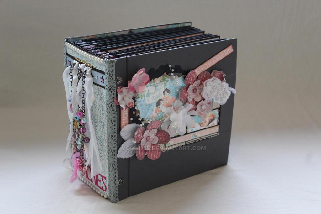 Precious Memories, Handmade Papercraft Album by yosimite