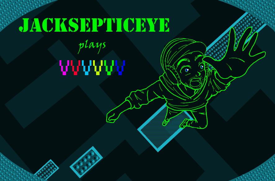jacksepticeye plays vvvvvv by theeternalchild on deviantart
