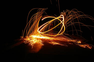Trick Photography - Steel Wool by winchesterstudios
