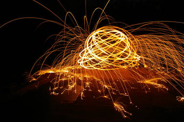 Trick Photography - Steel Wool 3 by winchesterstudios
