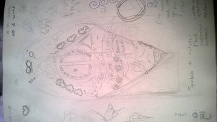 Tattoo design so far by Gizmo250