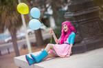 Equestria Girls Pinkie Pie cosplay