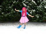 Pinkie in the Snow!