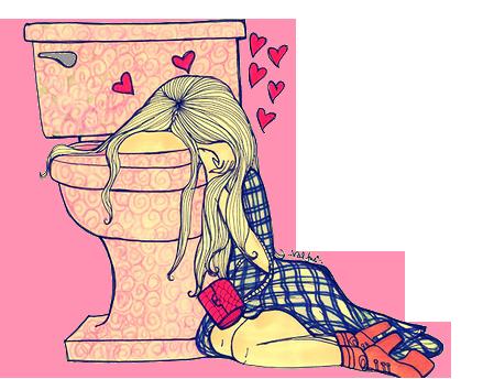 Menina triste apaixonada png
