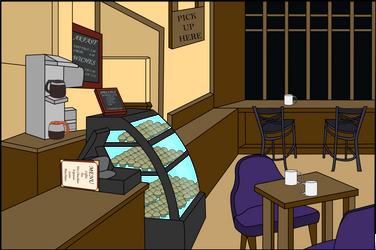 Coffee Shop - WIP by jlaperch