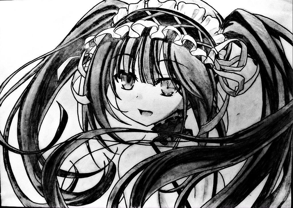 Kurumi Tokisaki (Date A Live) by FluffyBunny710