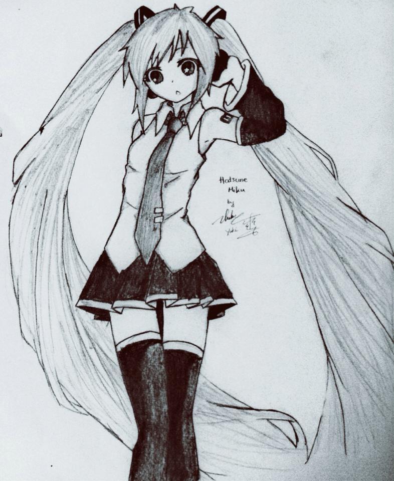 Hatsune Miku - CV01 by FluffyBunny710