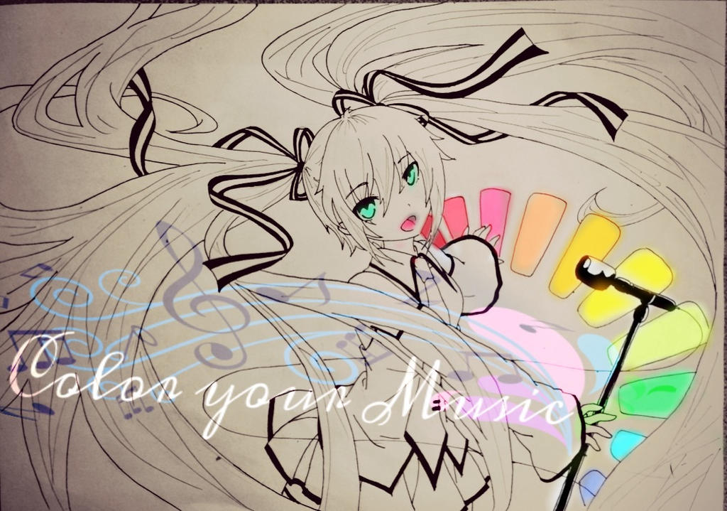Color your Music! -uncolored- by FluffyBunny710