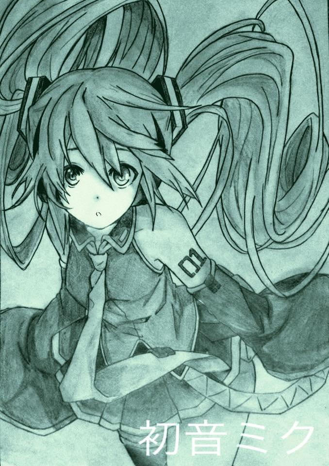 Hatsune Miku by FluffyBunny710