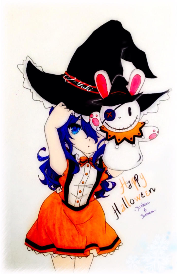 date a live yoshino halloween by fluffybunny710