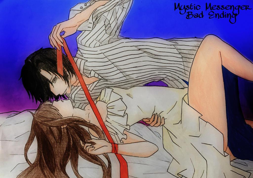 Mystic Messenger - Jumin x MC by FluffyBunny710