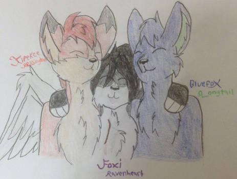 Fox friends!