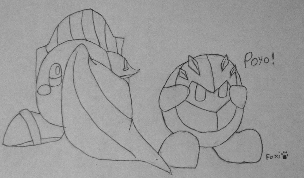 K-Kirby, put that down! by FoxiRavenheart