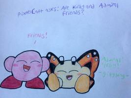 Question 2: Friends by FoxiRavenheart