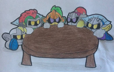 Round Knights of the Round Table by FoxiRavenheart