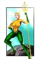 Aquawoman by Ulics