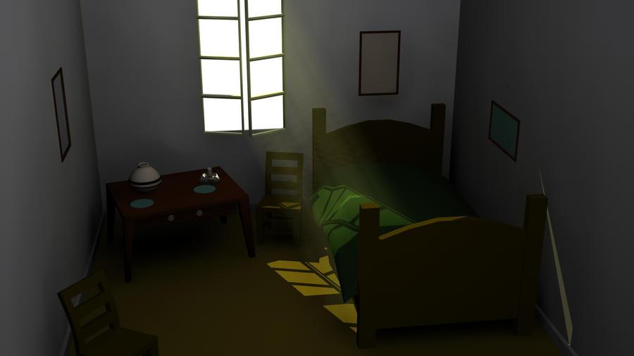 Van gogh bedroom in arles by koreonium on deviantart for Bedroom in arles