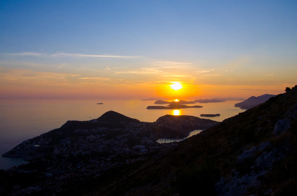 Dubrovnik sunset by DegsyJonesPhoto