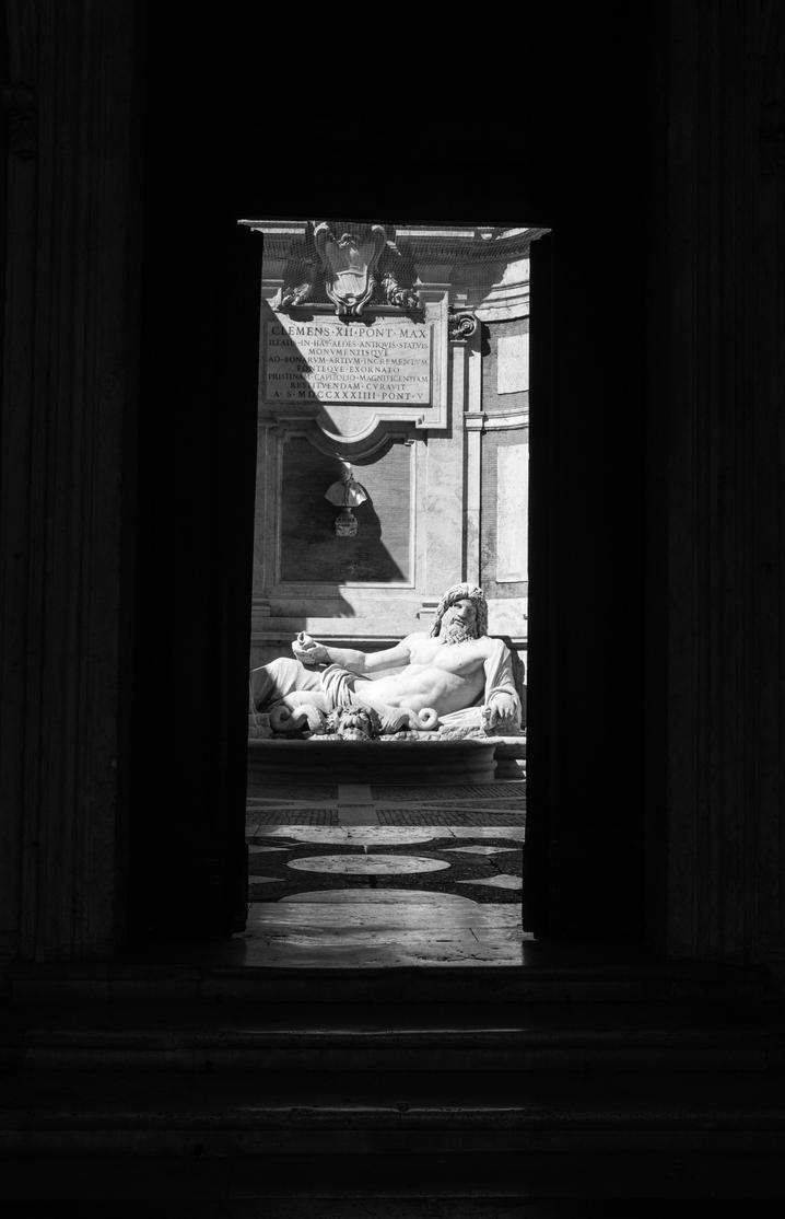 god in an alcove by DegsyJonesPhoto