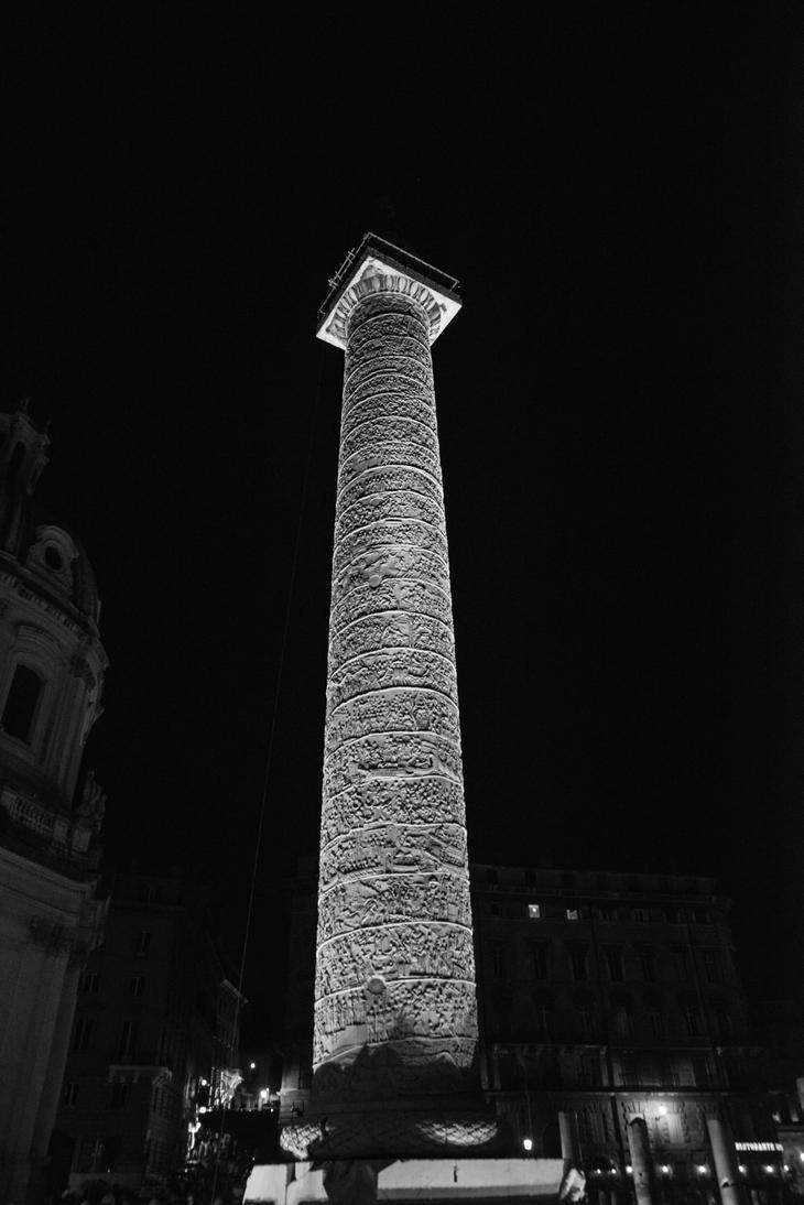 Trajan's column by DegsyJonesPhoto