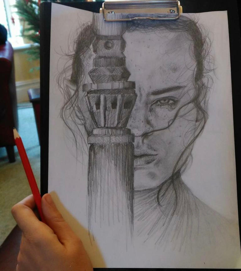 Ray sketch by AKingdomForAKiss