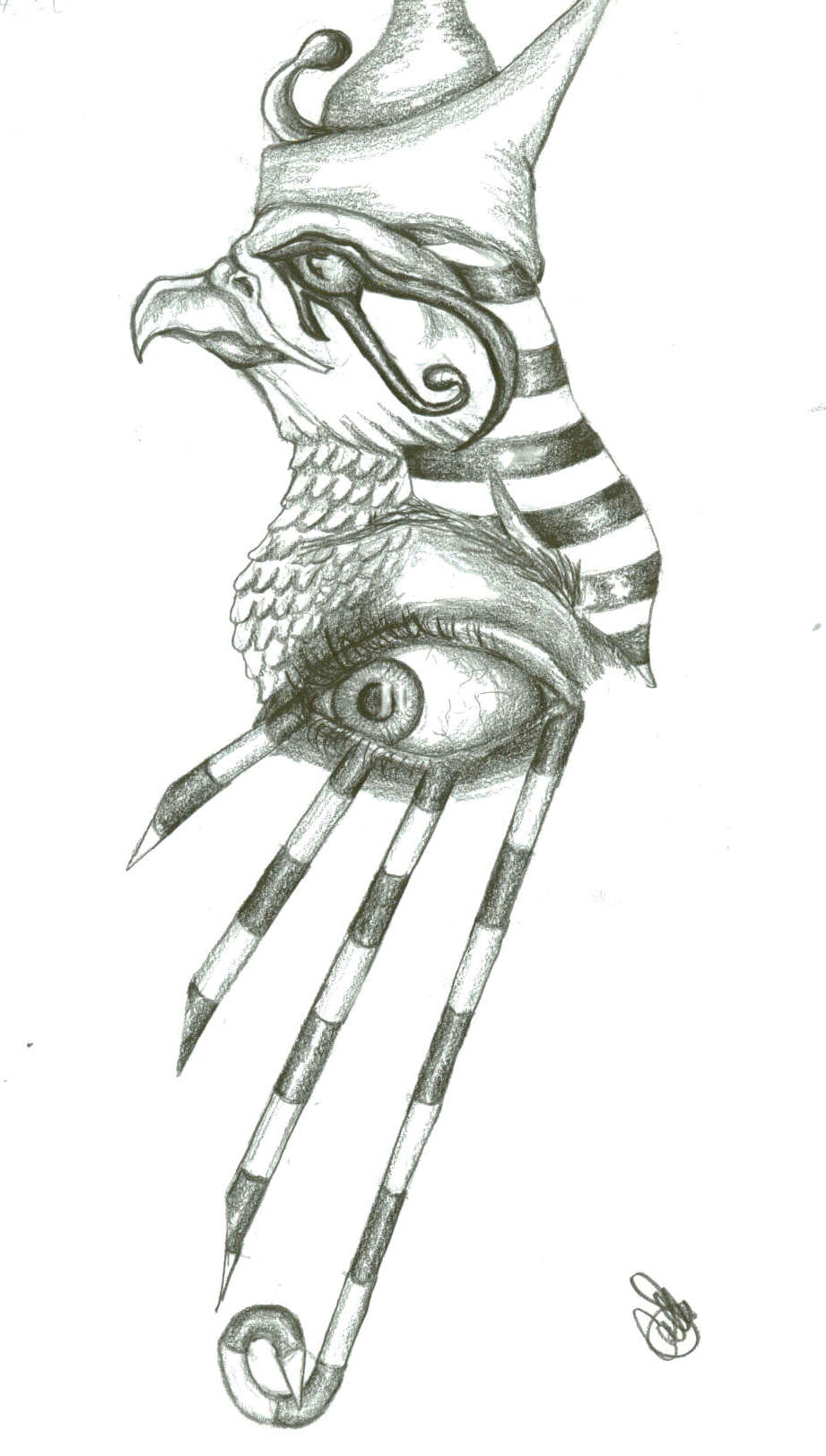 Horus' Eye by CrazyScorpio