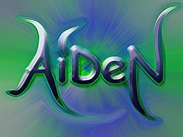 Aiden s name num...P In Graffiti