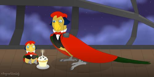 Happy Birthday, Arpeggio! by PeregrineFalconLady