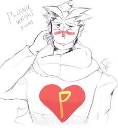 phoenix wright joven