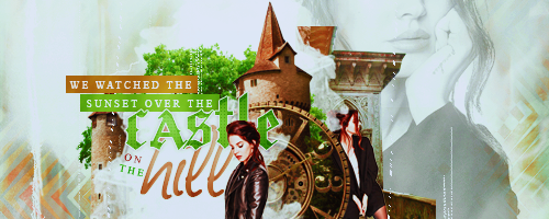 Castle on the Hill Signature by Maybeyou12